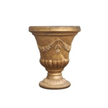 Vaso Taça Dourado